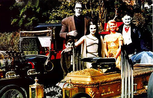 the munsters morticias morgue - Munsters Halloween Episode
